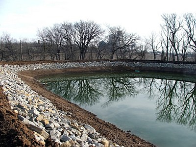 Beattie Wastewater Treatment System – New Lagoon Cell