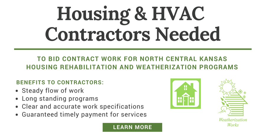Seeking Housing and HVAC Contractors