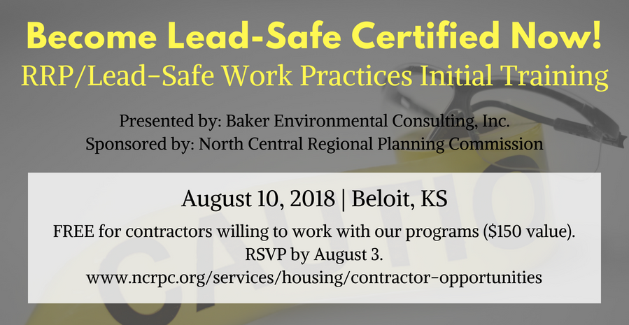 Lead Safe Work Practices Training