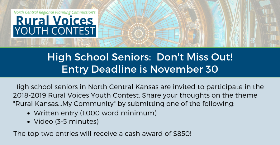 Announcing the 2018-2019 Rural Voices Youth Contest