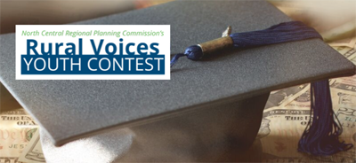 Rural Voices Youth contest logo and image