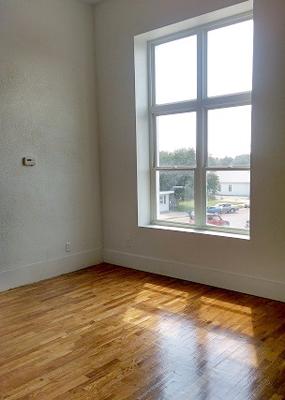 Photo of downtown Mankato apartment
