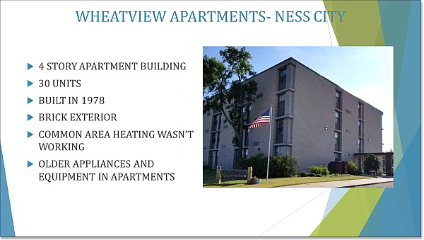 multi family weatherization project image