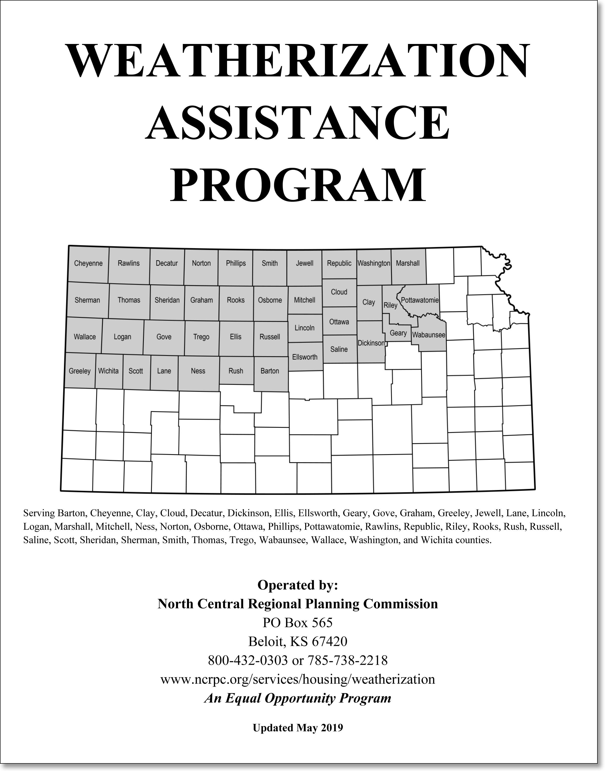 Link to Weatherization Assistance Program Application