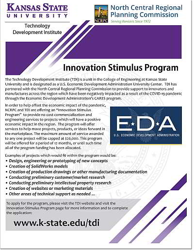 Image of Innovation Stimulus Program Flyer