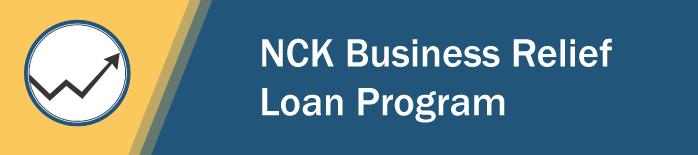 NCK Business Relief Loan Program Logo