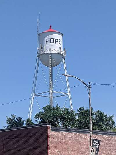 Image of City of Hope water tower
