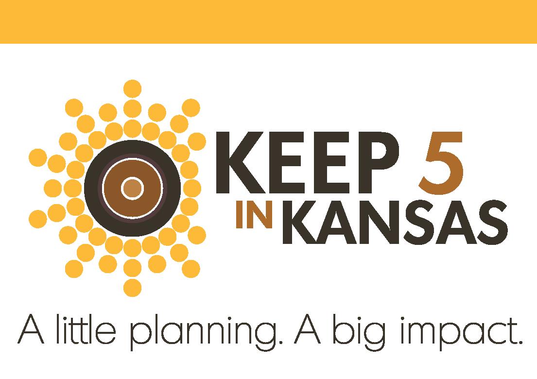 Keep 5 in Kansas program logo