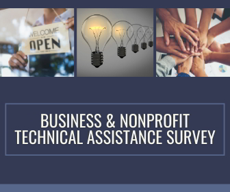 image about business and nonprofit technical assistance survey