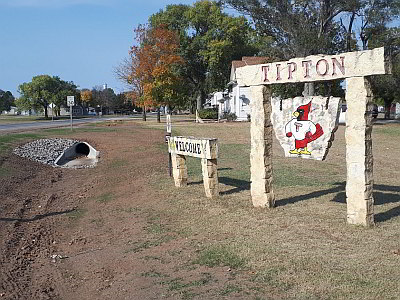 image from City of Tipton, KS drainage system improvement project