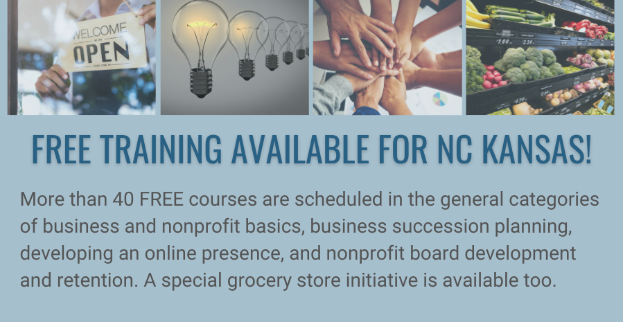 Free Training for North Central Kansas